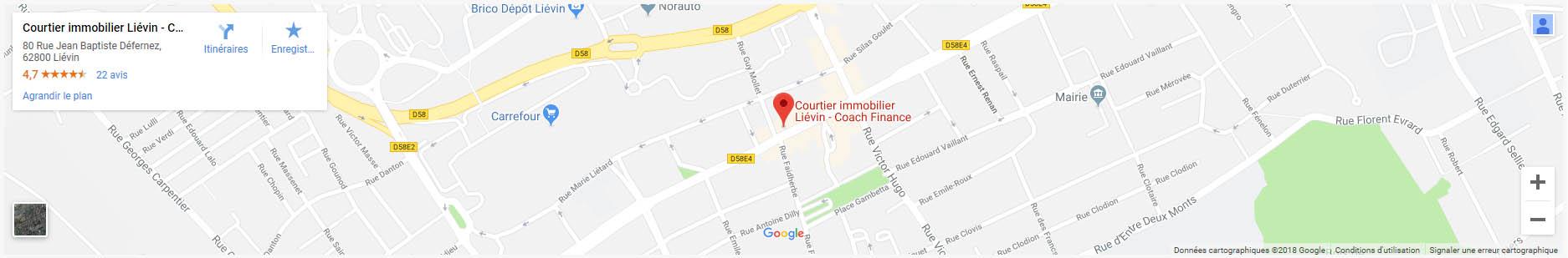localisation coach finance lievin