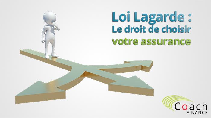Loi Lagarde: Le droit de choisir votre assurance